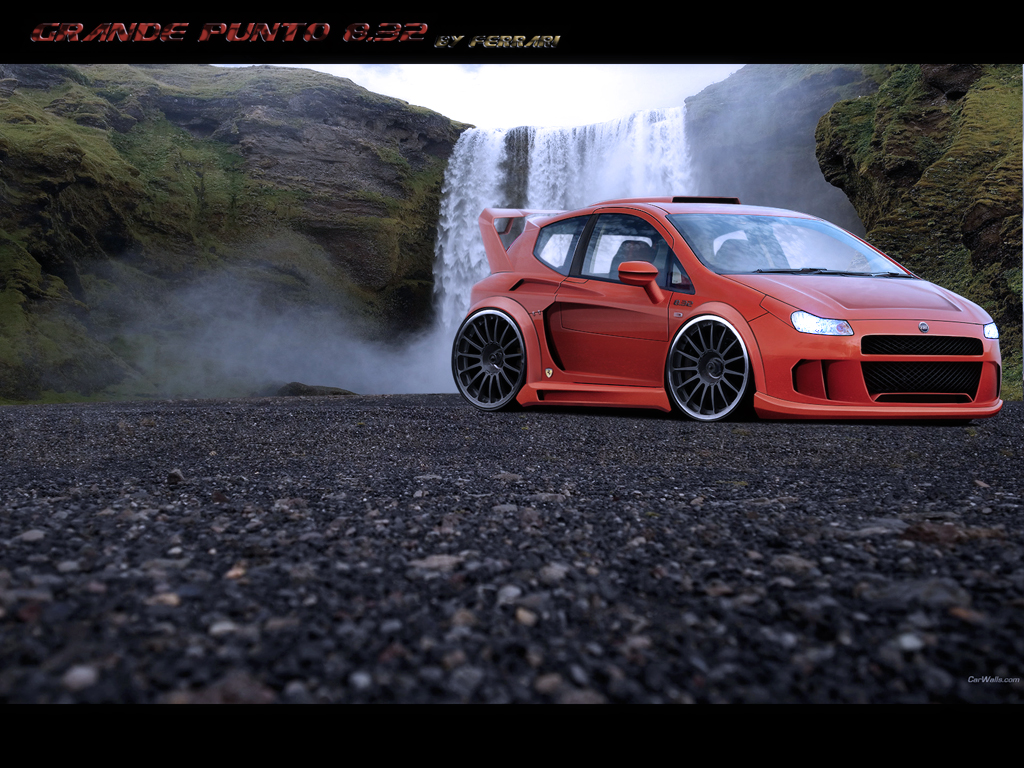 Fiat Grande Punto 8 32 By Evolvekonceptz On Deviantart