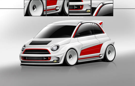 Fiat 500R by EvolveKonceptz