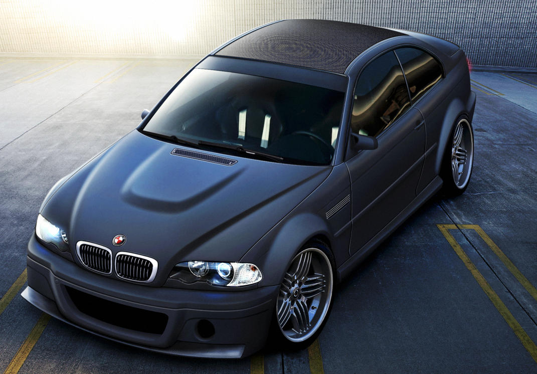 BMW M3 CSL by EvolveKonceptz on DeviantArt