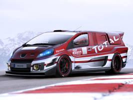 Peugeot Expert RaceVan by EvolveKonceptz