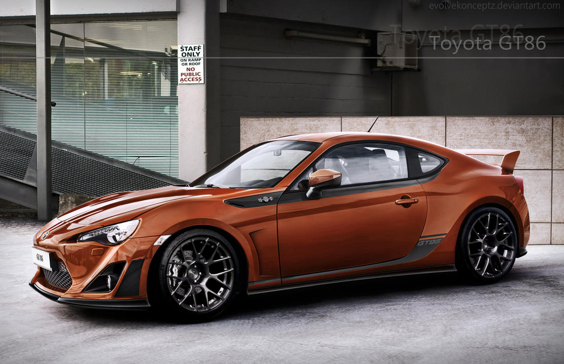 Toyota GT86 by EvolveKonceptz