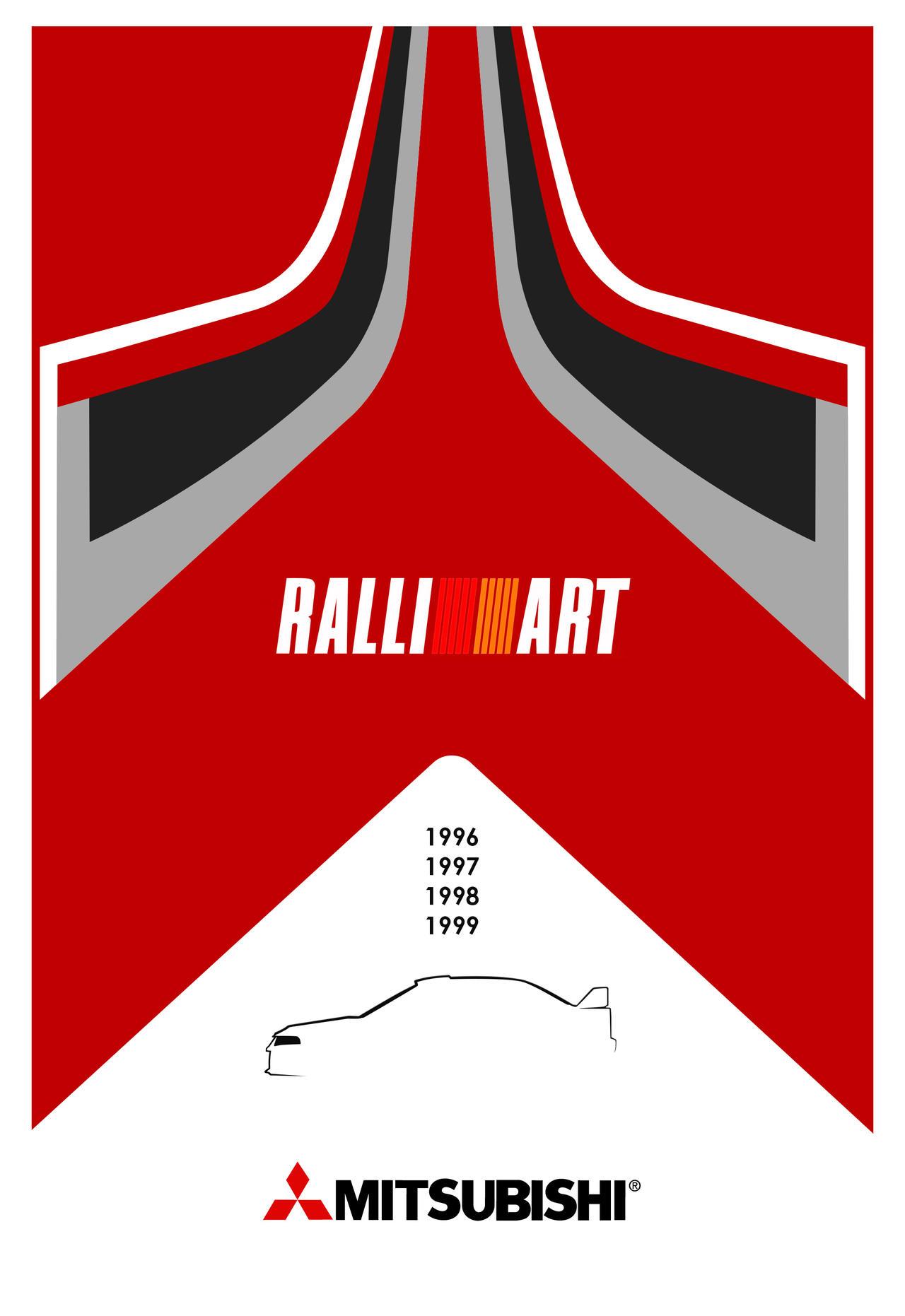 Mitsubishi Ralliart tribute