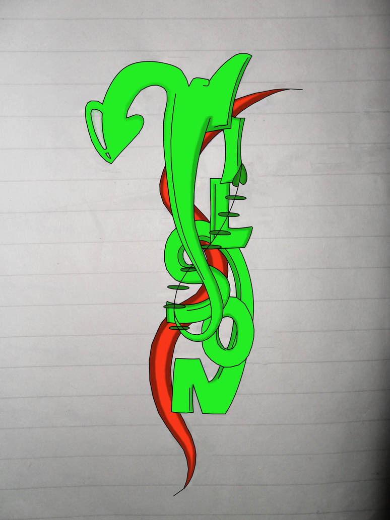 Graffiti Wilson Name By Wilson Adrian On Deviantart