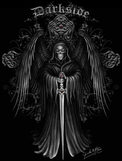 Dark Angel By Sheblackdragon On DeviantArt