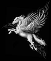 Pegasus by Sheblackdragon