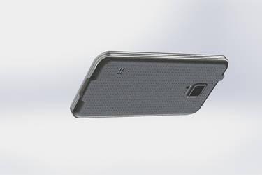 SGS5 3D Modeling - SolidWorks (Side/Bottom)