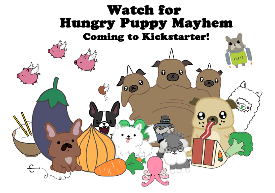 Hungry Puppy Mayhem Kickstarter by Hungry-Puppy-Mayhem