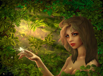 Faun girl by Jolly-Imp