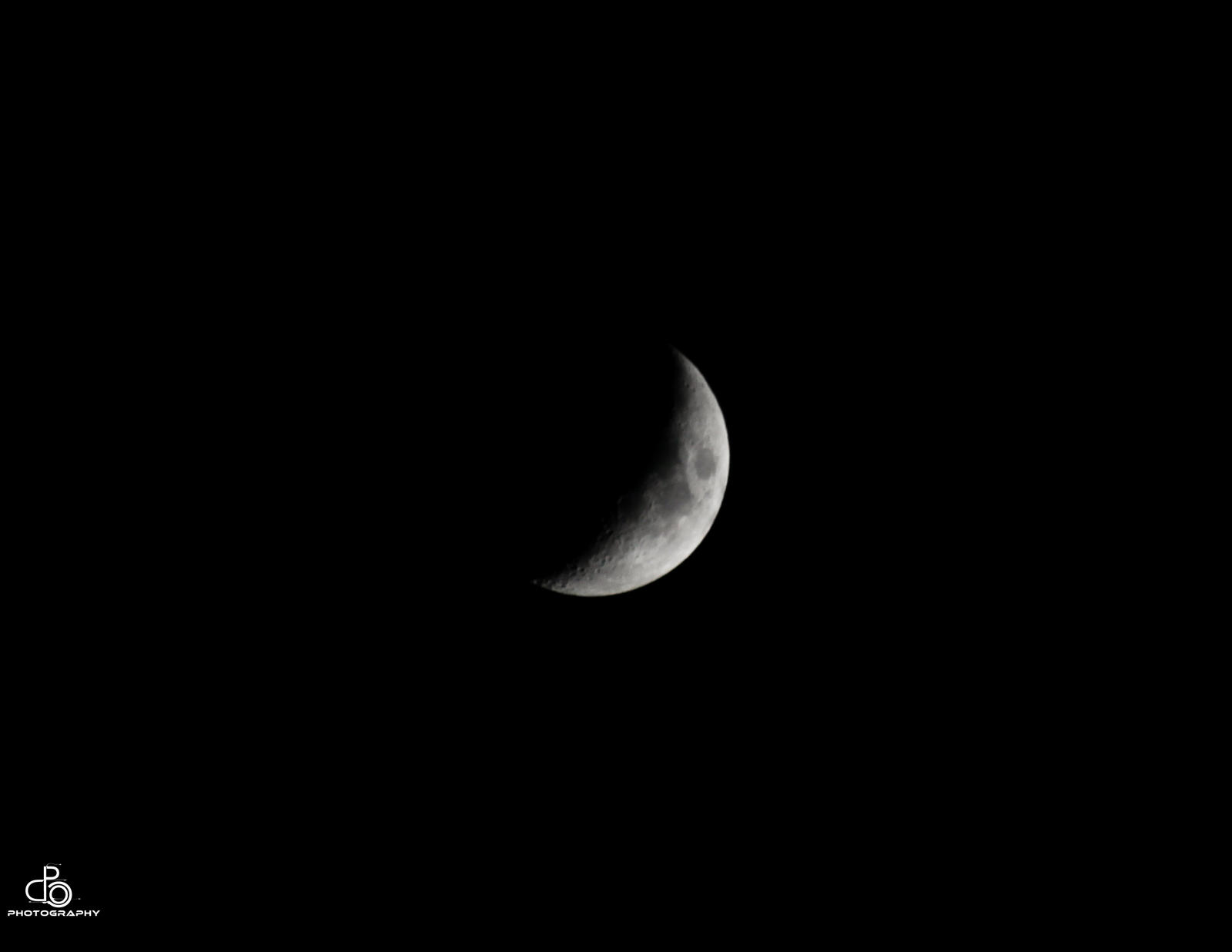 The moon by DraconPhotography