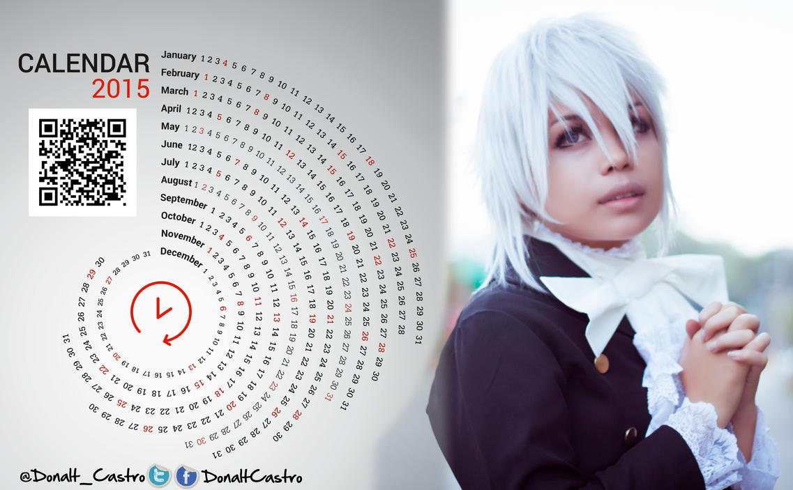 2015 Cosplay Calendar by DraconPhotography