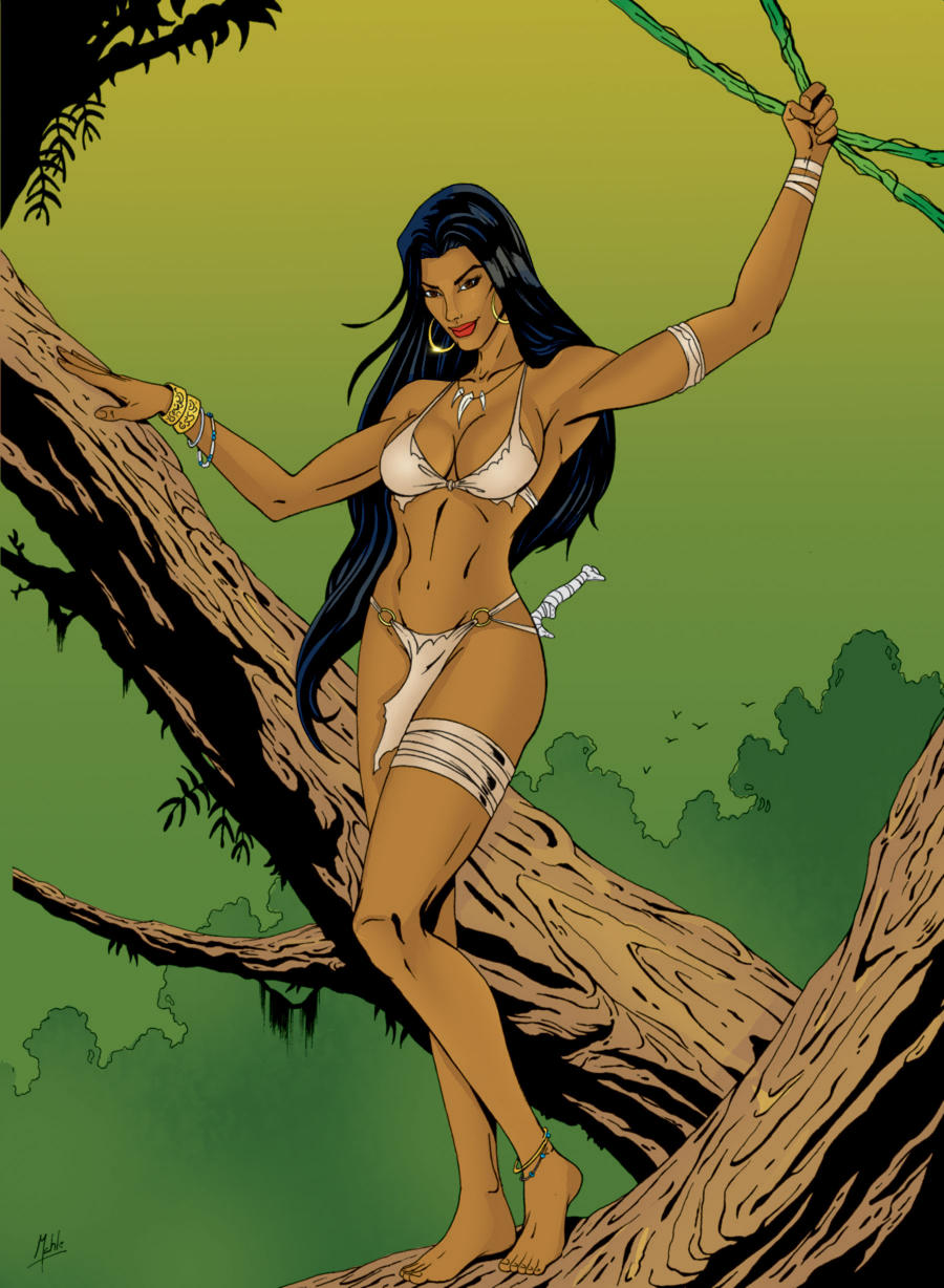 Queen of the jungle newgrounds