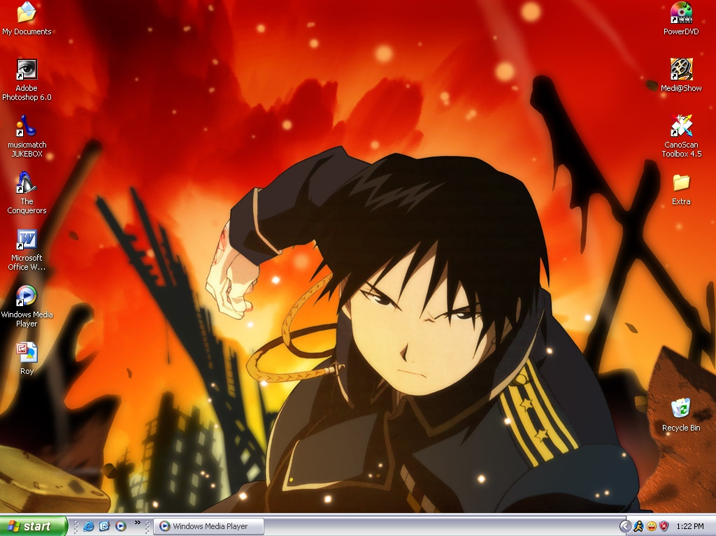 Roy Mustang Desktop 1 by Roy-Mustang-Fanclub