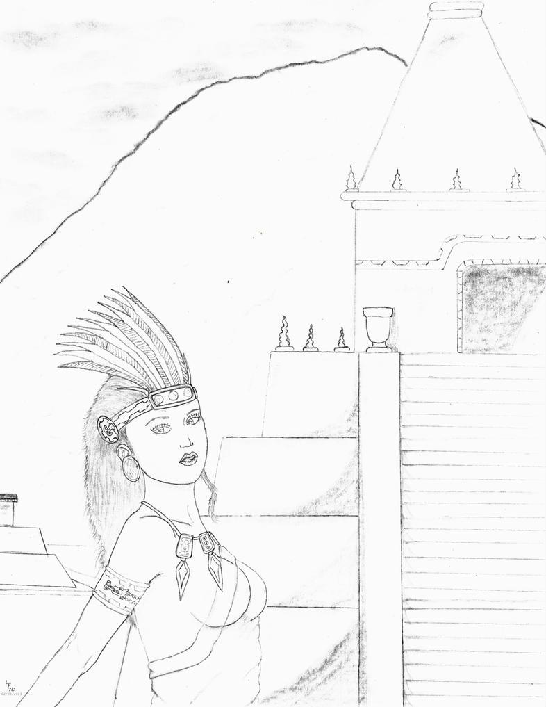 Aztek Queen by ligerfox