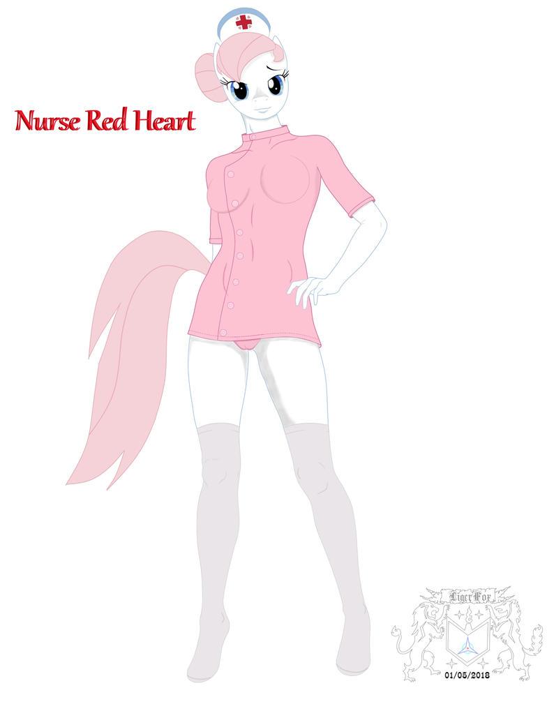 Nurse Red Heart by ligerfox
