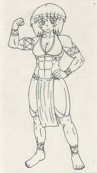 Lineart Diane's full body