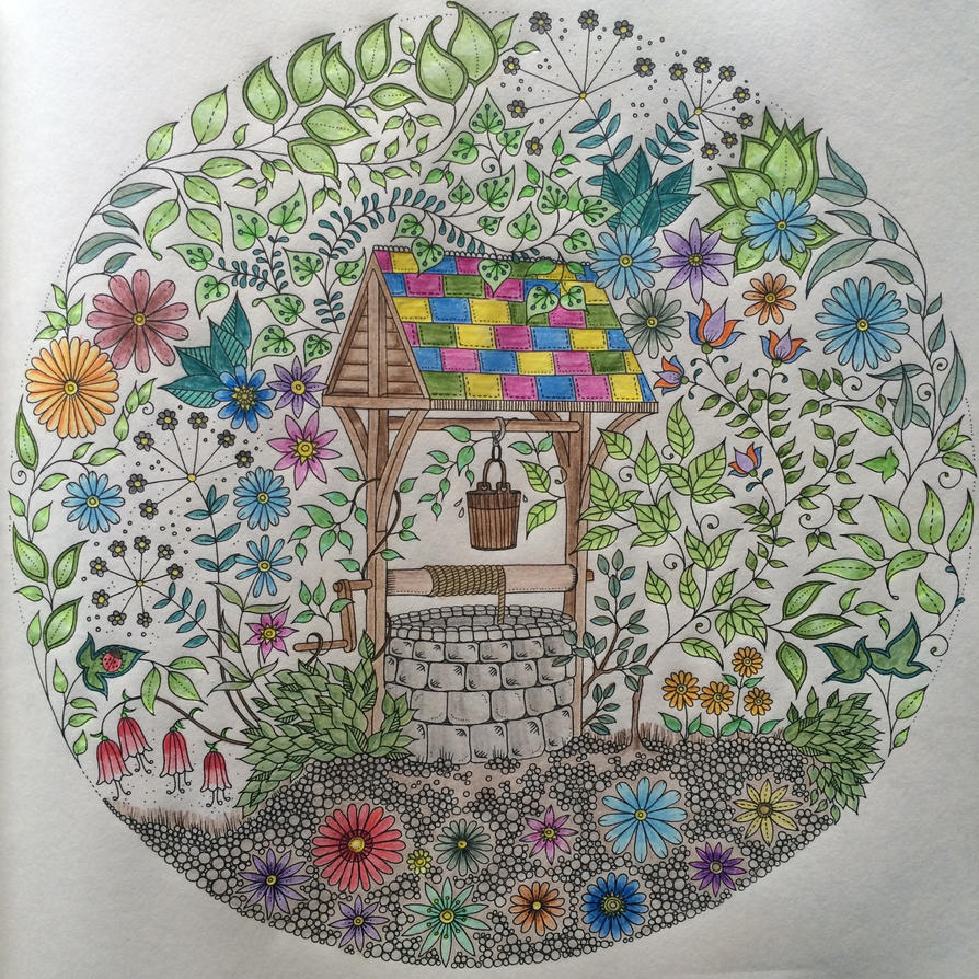 Wishing Well The Secret Garden Book By Debstaymetal On Deviantart