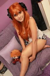 Bed Time (Asuka Langley Cosplay)