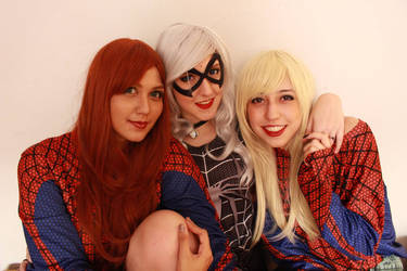Mj, Felicia and Gwen Cosplay