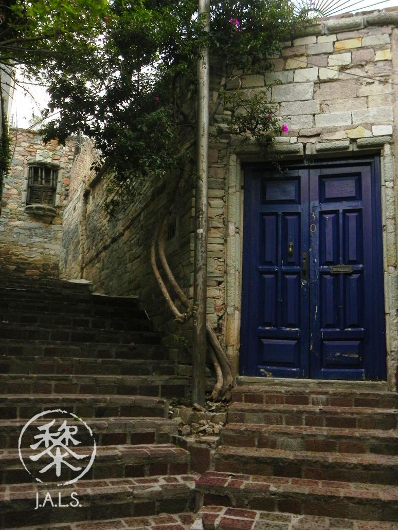 La Puerta Azul by Darellos