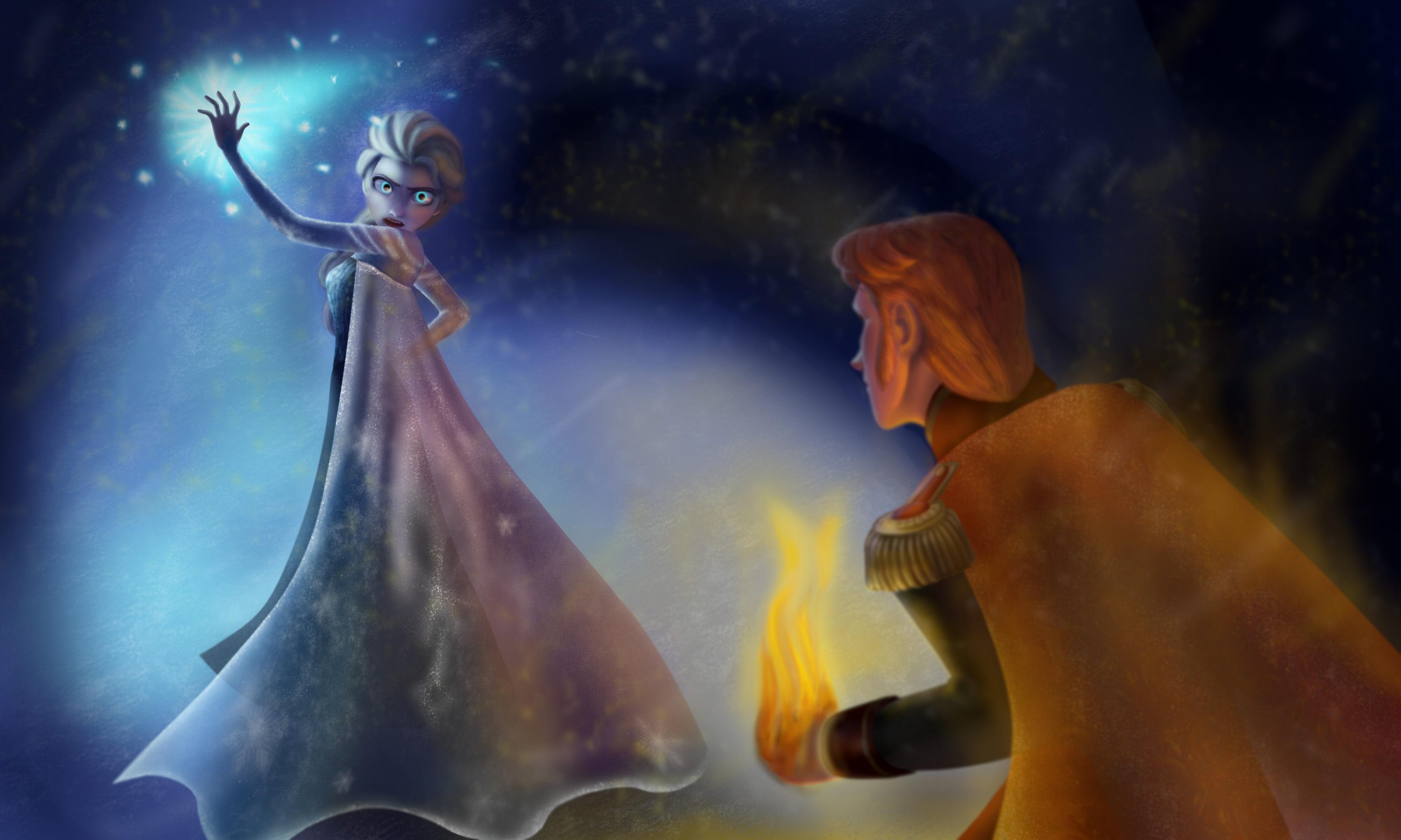 fire queen kiss fire king