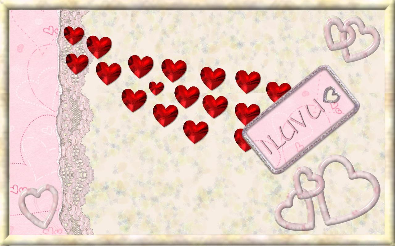 Valentine 39 S Day Wall By Kabegami On Deviantart
