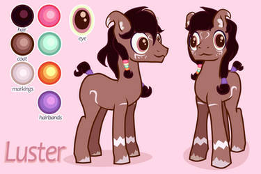 Luster Feral reference by iiwik