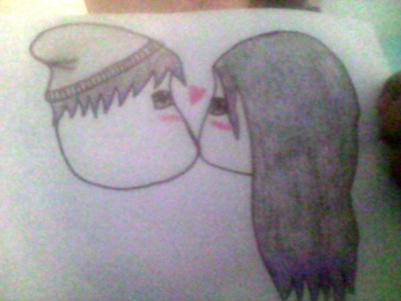 Chibi Kiss~ by LichitaGirl