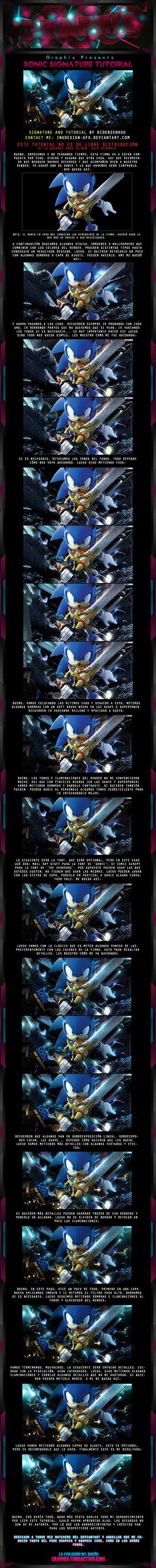 Sonic Signature Tutorial by Inudesign-GFX