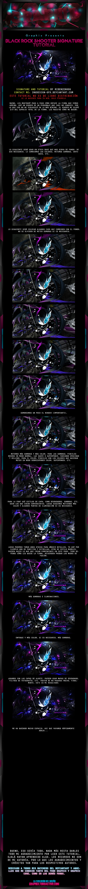 Black Rock Shooter Signature Tutorial by Inudesign-GFX