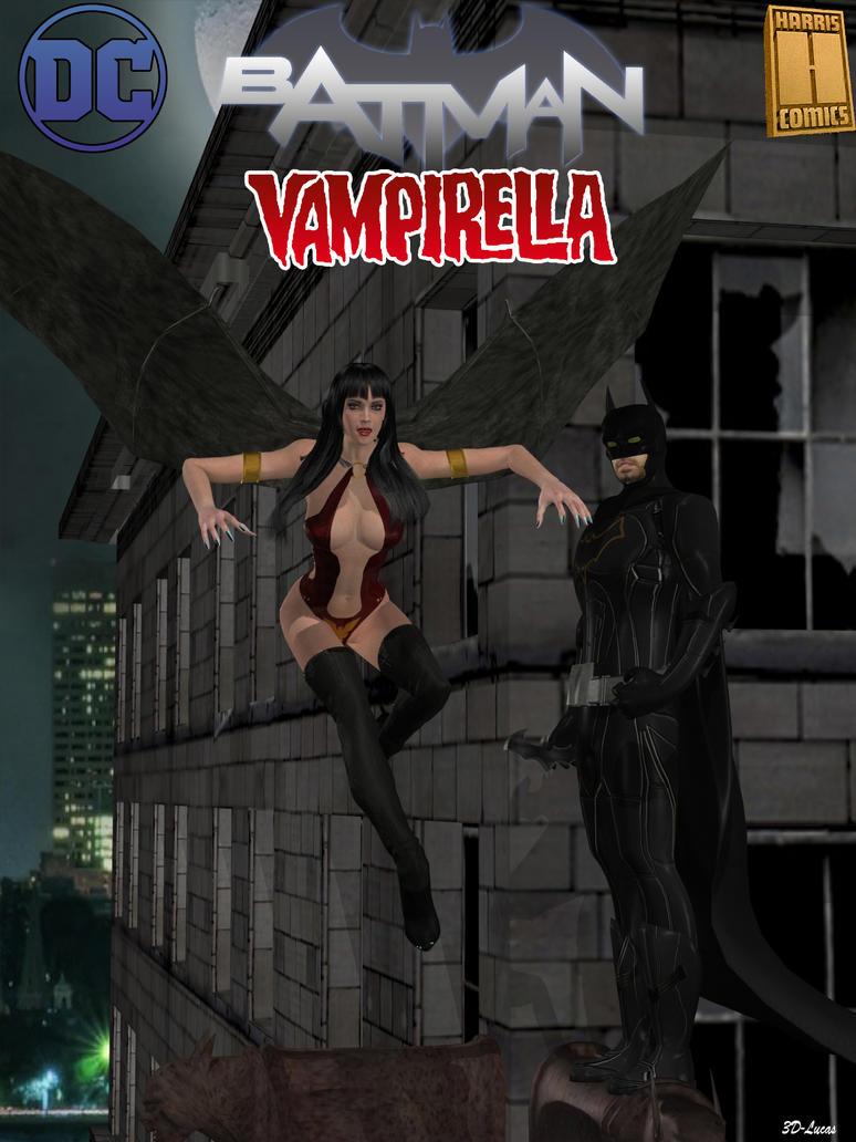 Batman Vampirella by 3d-lucas