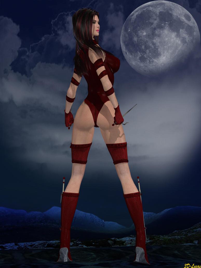 Elektra by 3d-lucas