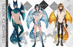 [OPEN AUCTION]Ouramori Planets Adopts Set 3 by Anat-nem