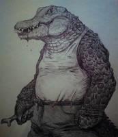 Swamp Killer by SalvadorDS