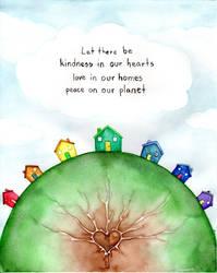 Kindness Love Peace