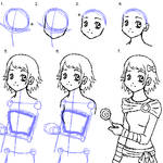 Head-Torso Drawing Tutorial