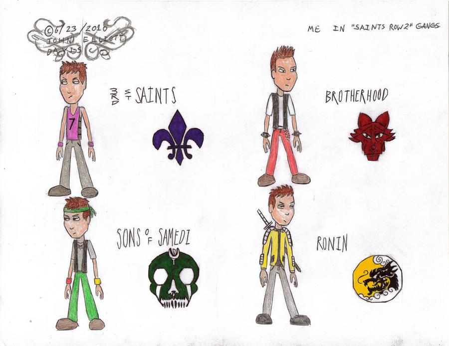 Me in saints row 2 gangs by littlegreengamer on deviantart