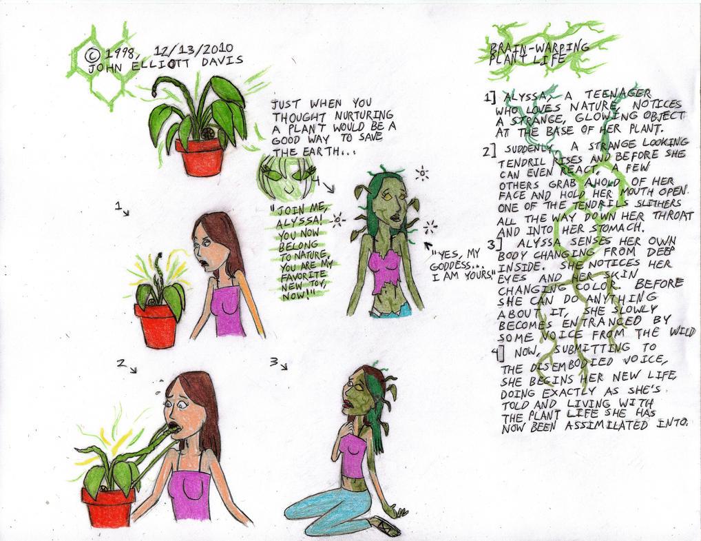 Brain-Warping Plant Life by LittleGreenGamer on DeviantArt