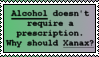Pro Xanax Stamp by LittleGreenGamer