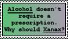 Pro Xanax Stamp by LittleGreenGamer