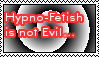 Hypno Fetish Is Not Evil Stamp by LittleGreenGamer