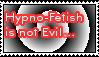 Hypno Fetish Is Not Evil Stamp by LittleGreenGamer