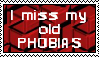 Stamp: I miss my old phobias by LittleGreenGamer