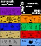 GTA CTW Gang Banner Compilation by LittleGreenGamer