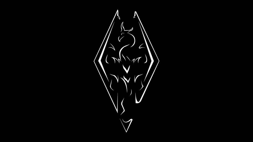 Skyrim Emblem Wallpaper By Athiosdvk On Deviantart