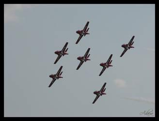 RCAF Snowbirds by Adaera