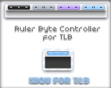 Ruler Niqu Media Control Set by u2bonokim