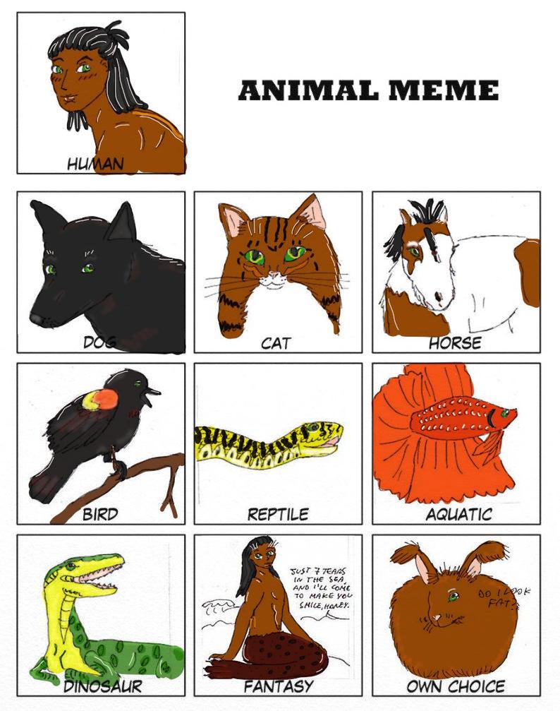 Animal meme Karnak by IllyDragonfly