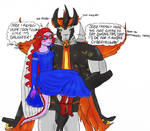 The Princess and the Predacon-First date... by IllyDragonfly