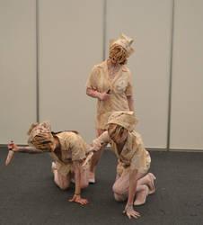 Silent Hill dark nurses