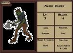 Zombie Raider 001